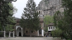 View from Dryanovo ortodox monastery Stock Footage