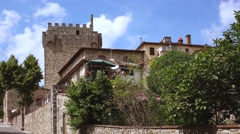 Castellina in chianti Stock Footage