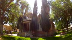 Historic Municipal Court Building- Kingman Arizona Stock Footage