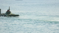 Amphibious landing Stock Footage