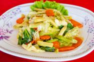Stir fried vegetables Stock Photos