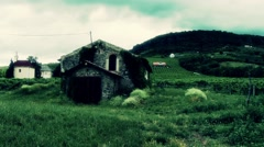 Old Vinery Stone House 4 stylized Stock Footage