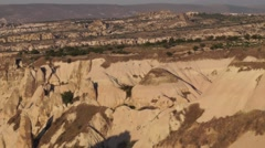 Panoramic View Of Goreme-Cappadocia 01/09 Stock Footage