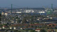 Port of Los Angeles Stock Footage