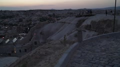 Panoramic View Of Goreme-Cappadocia 03/09 Stock Footage