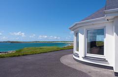 Stock Photo of Scenic Beach House