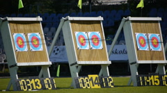 Stock Video Footage of HD - Archery Championships