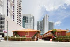 Starlite Motel Miami - stock photo