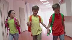 Joyful Childhood Stock Footage