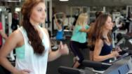 Stock Video Footage of Training in a Gym