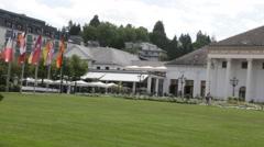Kurhaus and Casino Baden-Baden. Stock Footage
