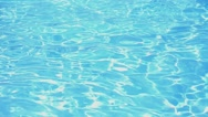 Stock Video Footage of Swimming Pool Water. Slow Motion.