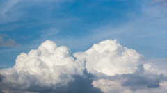Blue sky and cloud flying Stock Footage