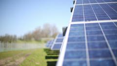 Solar Panels - Green Energy - High Quality Stock Footage