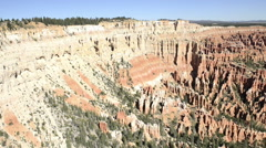 Slow pan of Bryce Canyon-N8-HD P- Stock Footage