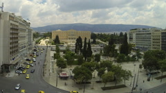 Constitution Square of Athens (Syntagma) , Greece, 1920X1080 Timelapse Stock Footage