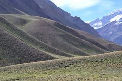 Aconcagua national park Stock Photos