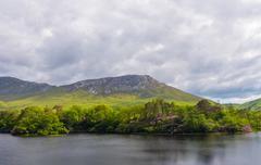 Stock Photo of Scenic Lake Landscape