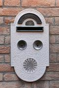 venice doorbell - stock photo