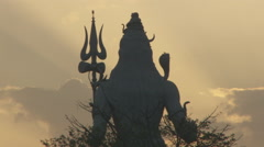 Lord Shiva - stock footage