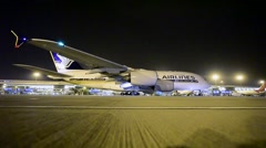 Airbus A380 Singapore Airlines Stock Footage