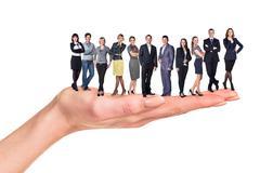 Handy business team Stock Photos