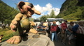 Troll at Geiranger Norway Footage
