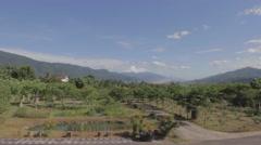 Beautiful Rueisuei mountains Stock Footage