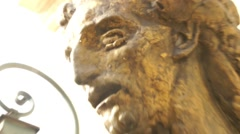 Auguste Rodin - Sculpture - Paris, France Stock Footage
