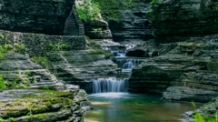 Watkins Glen Time Lapse Stock Footage