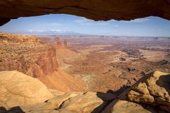 Mesa arch Stock Photos