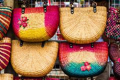 Stock Photo of colorfull handmade bags