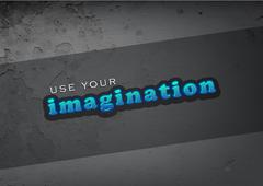 use your imagination - stock illustration