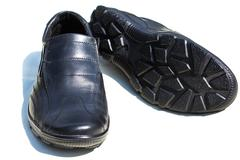 A pair of men's shoes Stock Photos