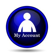 Stock Illustration of my account icon