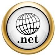 .net icon - stock illustration