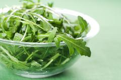 Rucola fresh salad Stock Photos