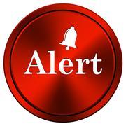 Stock Illustration of alert icon