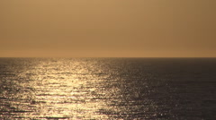 Greece, Mediterranean Sunset. Hot summer day on the seashore. Ionian Islands. - stock footage