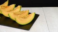 Honeydew melon Stock Footage
