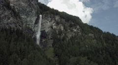 Jungfernsprung water fall, Austria Stock Footage