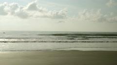 Hangar Beach in Florida Stock Footage