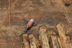 Stock Photo of circular saw