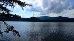 Lake santeetlah great smoky mountains Stock Footage