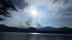lake santeetlah great smoky mountains - stock footage