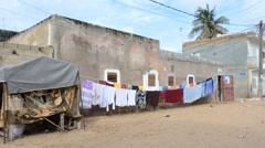 District of Dakar, Dakar, Senegal Stock Footage