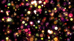 Bokeh Blinking Effect with Nice environment Stock Footage