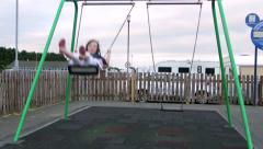 High Flying Young Wexford Girl Stock Footage