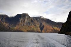 Majestic mountains - stock photo