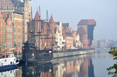 Ship of pirates Stock Photos